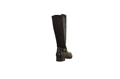 JJ Footwear Women's Messina XXL 49.4 cm - 57.1 cm Espresso Dream/Stretch Leather Boot 43 F EU