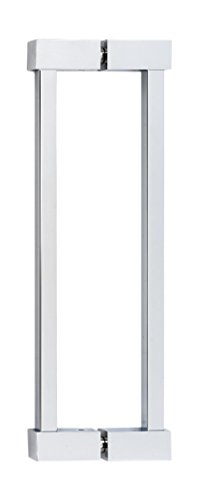 (Alno G718-8-PC Contemporary II Modern Back-To-Back Pull, Polished Chrome)
