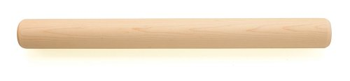 Fletchers' Mill Bakery Rolling Pin, Maple - 18.5 Inch, Professional Rolling Pin for Baking, Pasta, Pie, Cookie Dough, MADE IN U.S.A.