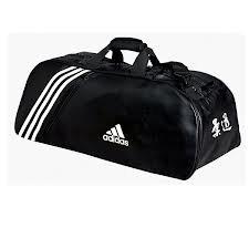 Judo New Sport L 70x35x35 Cm De Sac Bandes Blanches Adidas lKFJc31T