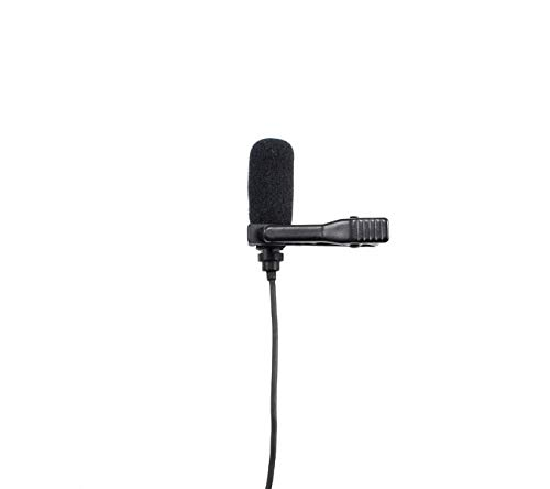 Pro Lavalier Lapel Microphone HIXMAN LM5-C4AV Unidirectional Condenser Mic For Electro Voice Wireless Transmitter RE 1 RE 2