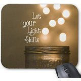 Inspirational Bible Verse Christian Quote Mouse Pad 9.84″x7.87″