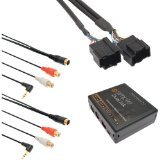 iSimple ISGM531 Automotive Dual Auxiliary Input Kit for Select GM 29-Bit LAN Vehicles ()