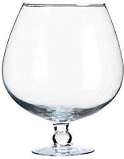 Xxxl Copa De Coñac El Cristal Claro Gigantes Copa De Coñac Vidrio Transparente Y Soplado A Boca Para Decorar La Altura Aprox 37 Cm De Contenido