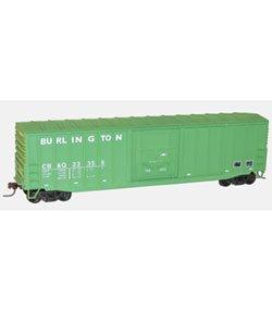 HO KIT 50' Exterior Post Steel Box, CB&Q