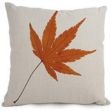 Elegancebeauty Leaf Throw Pillow Case 18 X 18 Inches / 45 By 45 Cm Gift Or Decor For Bedroom,play Room,kids Room,festival,bar,seat - 2 Sides (Ninja Sharp Feathers compare prices)