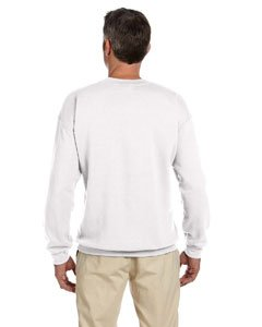 White S - Product of Brand Hanes 97 oz Ultimate Cotton 90//10 Fleece Crew Instant Savings of 5/% /& More