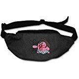 [Curcy Unisex E Kir By Video Game Unique Traveling Waist Bag Belt Black] (Traveling Circus Costume)