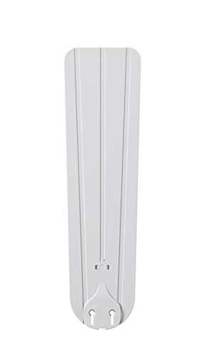 Fanimation BPW24MW Abs Bead Board Blade, 22-Inch, Matte White, Set of 5 - Beadboard Blades