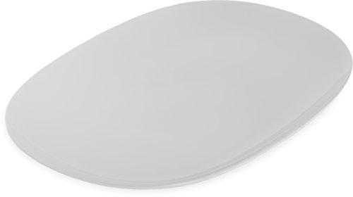 Carlisle 4384202 Designer Displayware Melamine Oblong Platter, 14