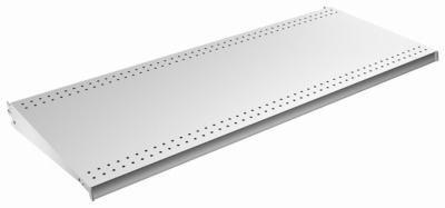 Lozier Store Fixtures DL416N PLT 4 ft. Wide x 16 in. Deep44; Platinum Lozier Shelf - Pack of 2 (Lozier Store Fixtures)