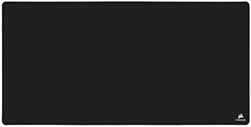 Corsair MM500 Extended 3XL Gaming-Mauspad (122cm x 61cm Oberfläche, Premium Anti-Fray Cloth und Rutschfesten Strukturierten Gummiunterlage, Optimiert für Hochleistungsfähige Gaming-Mäuse) Schwarz