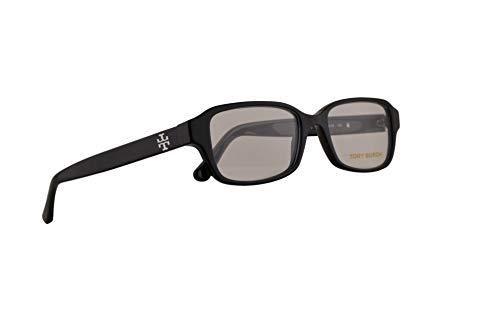 Tory Burch TY2070 Eyeglasses 50-16-135 Shiny Black w/Demo Clear Lens 1377 TY ()