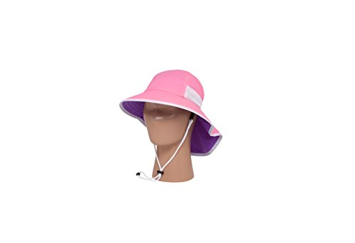 Girls Sun Hat Cap - Sunday Afternoons Play Hat, Youth, Pink/Grape