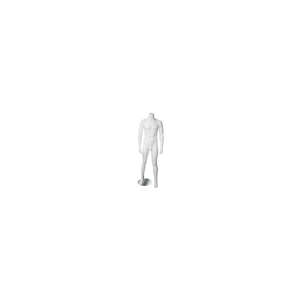 New White Male Headless Mannequin Clothes Display HM1W