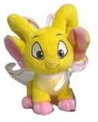 Neopets Collector Species Series 3 Plush with Keyquest Code Faerie Acara
