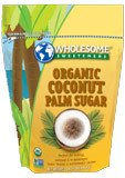 Organic Coconut Palm Sugar (Pack of 6)