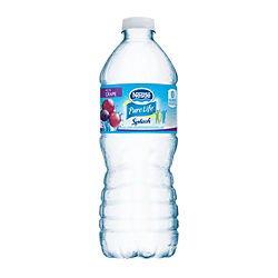 Nestle(R) Pure Life(Tm) Splash Acai Grape, 16.9 Oz. Bottles, 24 Bottles Per Case