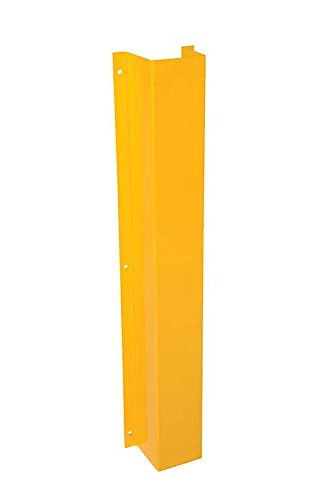 Pipe Protectors   Bdsg Series  Material  Steel  Inside  W X D   6  X 6   Overall Size  W X D X H   9 3 16  X 6 1 8  X 48   Color  Yellow Powder Coat