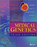Medical Genetics, Jorde, Lynn B. and Bamshad, Michael J., 032303568X