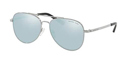 Michael Kors 0MK1045 Gafas de sol, Silver, 56 para Mujer ...