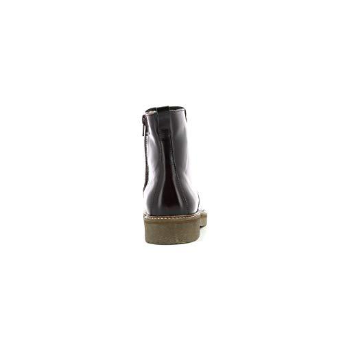 50 655530 Femme Oxcircle Buy Bottine Lisse Burgundy Noir Kickers nxO1n