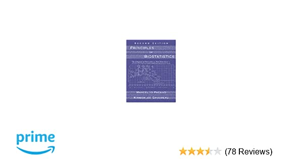 Principles of Biostatistics (with CD-ROM): 9780534229023: Medicine