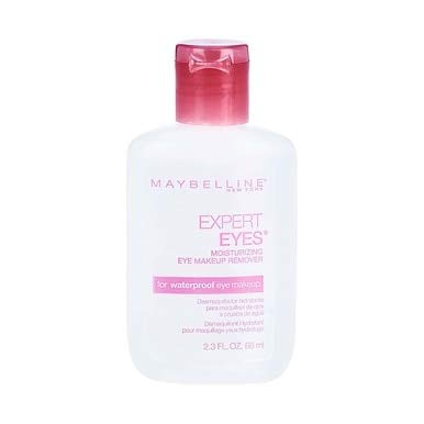 Maybelline New York Expert Eyes Moisturizing Eye Makeup Remover, 2.3 oz (Pack of 10)