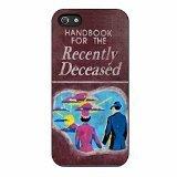 Beetlejuice Handbook Recently iPhone 5/iPhone 5s Case (Black Plastic) ()