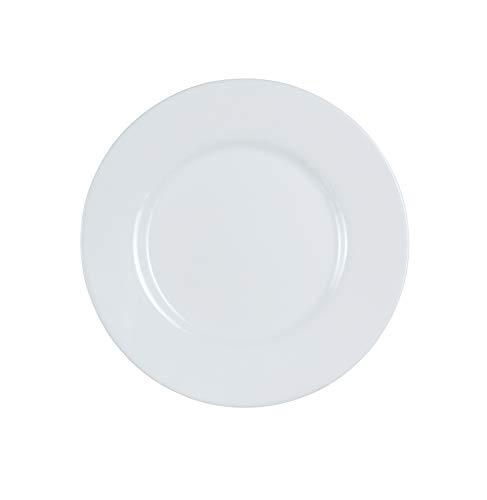 Luminarc P1875 Everyday Dessert Plate, Set of 6, 1, White
