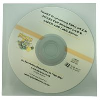 Spiratronics Picaxe Programming Editor Software CD