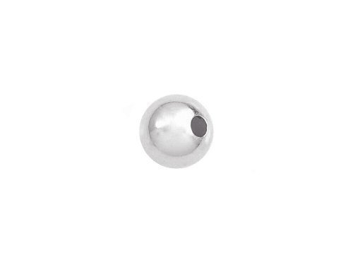 (50 Pcs 5mm 925 Sterling Silver Seamless Round Beads)