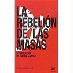 Image of La rebelion de las masas/ The revolt of the masses (Spanish Edition)