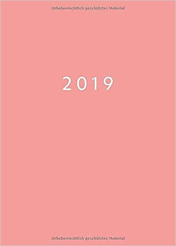 2019: Mini Kalender ca. DIN A6 | 1 Woche auf 2 Seiten | 52 ...