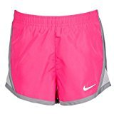 Nike Little Girls Tempo Shorts Size 4T (Pink Pow)