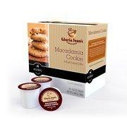 (Gloria Jean's K-Cups Macadamia Cookie Coffee, 18ct(Case of 2) by gloria)