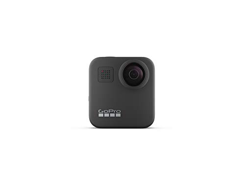 GoPro MAX - Waterproof 360 + Traditional Camera with Touch Screen Spherical 5.6K30 HD Video 16.6MP 360 Photos 1080p Live Streaming Stabilization