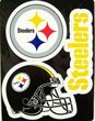 Pittsburgh Steelers NFL Multi Magnet Sheet 3 Magnets