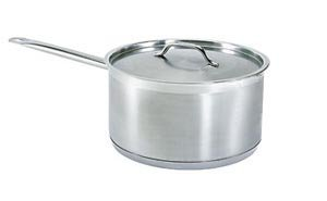 6 QT COMMERCIAL STAINLESS STEEL SAUCE PAN - NSF