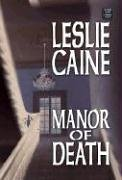 book cover of Manor of Death
