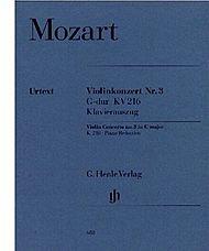 Concerto No. 3 in G Major K216