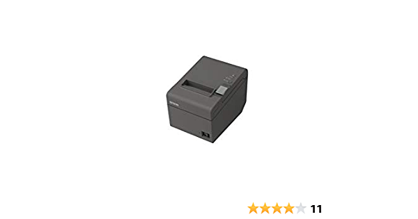 Epson Drucker Epson TM-T20III ETHERNET TICKETS USB 250 MM//SEG schwarz gl/änzend