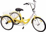 Komodo Cycling 24 inch, 6-speed Adult Tricycle #7001