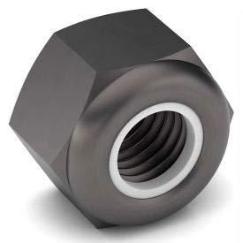 1/4-20 NTE Nylon Insert Lock Nut - 18-8 Stainless Steel - Plain - Coarse - Pkg of 50 (Pack of 10)