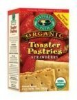Natures Path 32287 Organic Un-Frosted Strawberry Toaster Pastry by NatureS Path