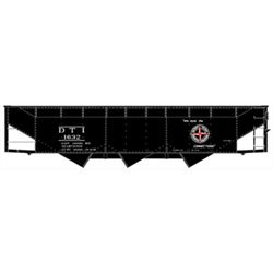 HO KIT 70-Ton Offset Triple Hopper, DT&I