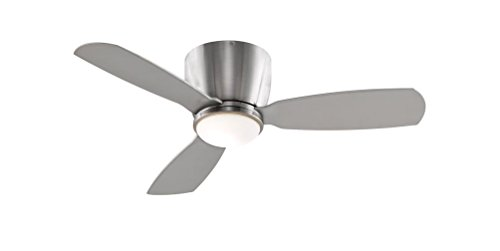 Fanimation FPS7981BN Embrace Ceiling Fan with Light Kit and Remote, 44-inch, Brushed Nickel from Fanimation