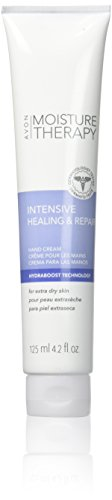 Avon Moisture Therapy Intensive Healing & Repair Hand Cream Extra Dry Skin 4.2 Fl Oz. Fragrance Free - Qty 2