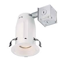 Commercial Electric 3 in. White Baffle Recessed Kit