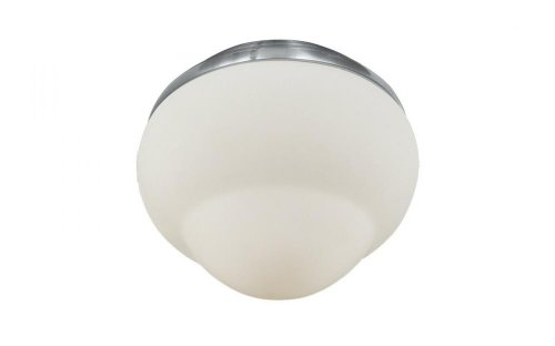 Monte Carlo MC214BS Fluorescent Ceiling Fan Light Kit Brushed Steel Finish